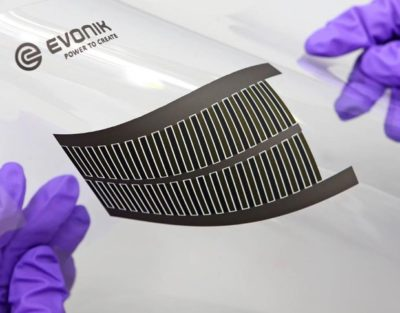 Ultrathin, flexible batteries, Evonik Creavis GmbH