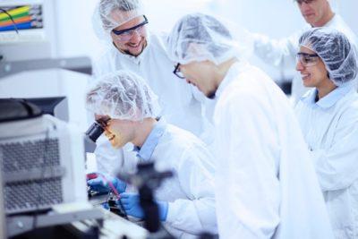 LOE cleanroom lab, Linköping University